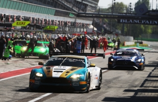 A rough ride comes good for Oman Racing with TF Sport at Blancpain GT season opener