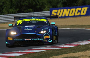 TF Sport chasing the British GT double at Donington Park