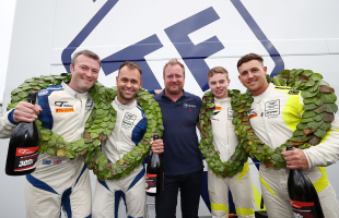 TF Sport crowned double British GT champions