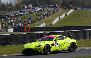 Kibble and O'Brien team up with TF Sport for British GT Championship with the Vantage GT4