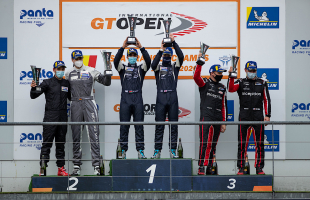 AL HARTHY AND CANNING WIN ON GT OPEN DEBUT