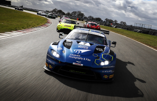 PETROBELLI AND CANNING TAKE ON BRITISH GT'S SILVERSTONE 500