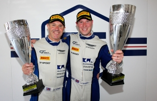 TF Sport's Barnes and Farmer harvest first win from British GT 'flyway' at Spa