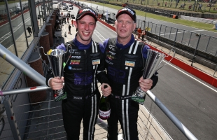 Geordie drivers Johnston and Bell break TF Sport's podiums duck at Brands Hatch