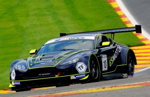 TF Sport scales International GT Open rostrum at Spa-Francorchamps