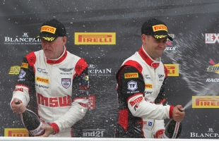 TF Sport commences British GT title charge with a victory at Brands Hatch