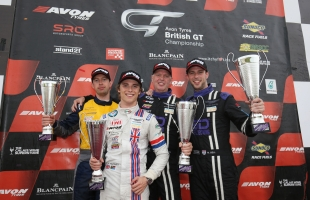 TF Sport see out 2015 British GT campaign with memorable one-two at Donington Park