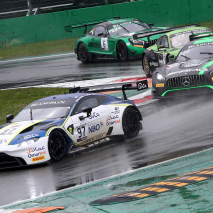 TF Sport Aston Martin GT3 #97 racing on Monza - Blancpain GT