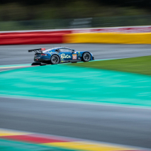 TF Sport Aston Martin GTE #90 racing at Spa - FIA WEC 2019
