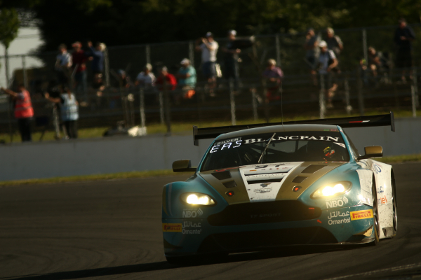 Oman Racing with TF Sport denied strong Blancpain GT Silverstone result