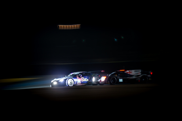 A late race exit for TF Sport at the 24 Hours of Le Mans