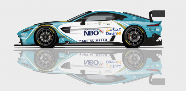 Oman Racing with TF Sport to debut new Aston Martin GT3 at Gulf 12 Hours