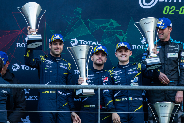 TF Sport Spa 6hrs podium