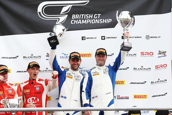 Double Brands Hatch success keeps TF Sport firmly in British GT Championship fight