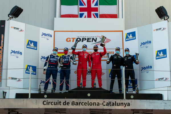 GT OPEN VICE-CHAMPIONS CLAIM ANOTHER DOUBLE PODIUM AT SEASON FINALE