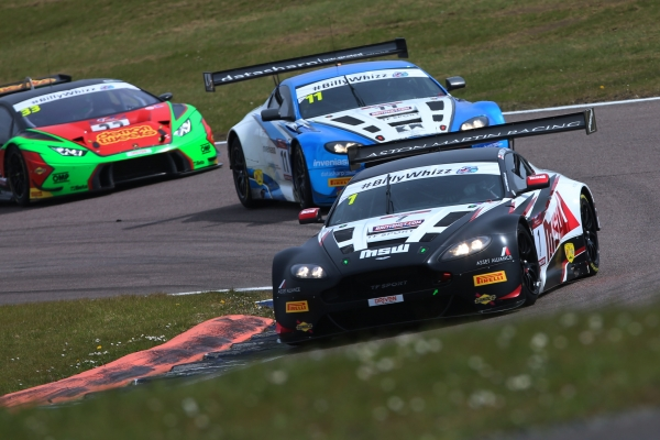 TF Sport left disappointed at Rockingham British GT visit