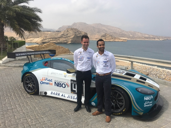 TF Sport set for Blancpain Endurance Cup with Oman Racing Team